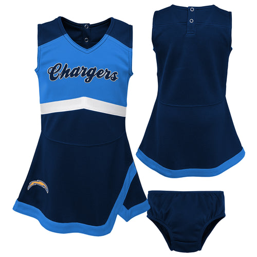 Los Angeles Chargers Infant Cheerleader Dress