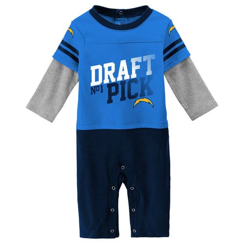 Chargers Boy Long Sleeve Coverall