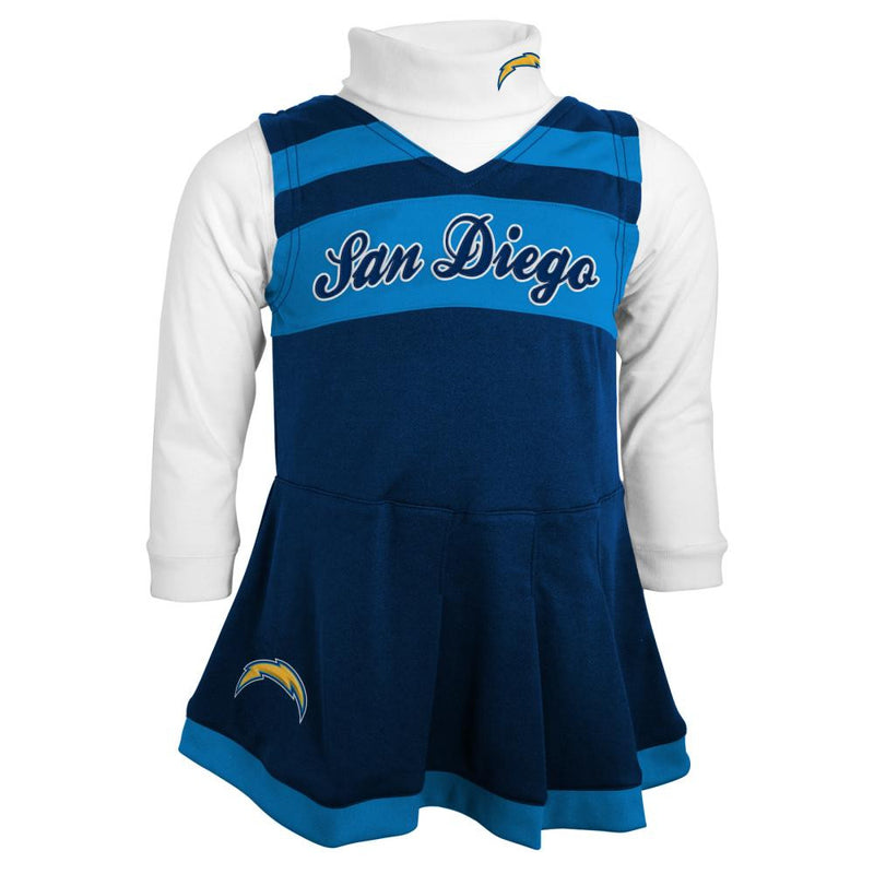 San Diego Chargers Cheerleader Dress