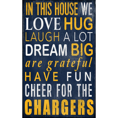 Chargers Baby Nursery Wall Art