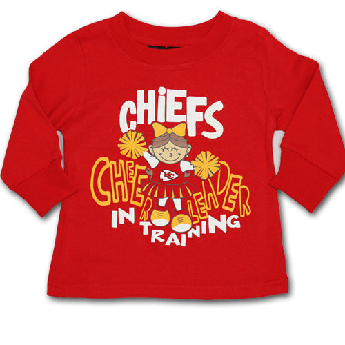Chiefs Cheerleader In Training Long Sleeve Tee