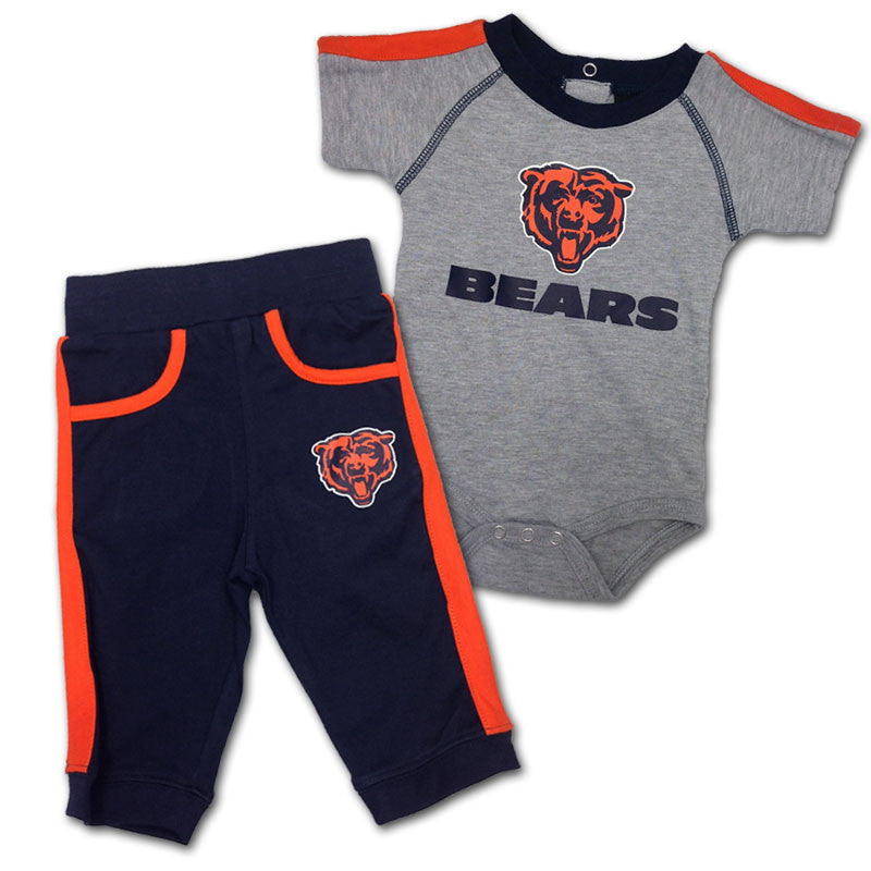Baby Bears Short Sleeved Creeper & Pants Outfit