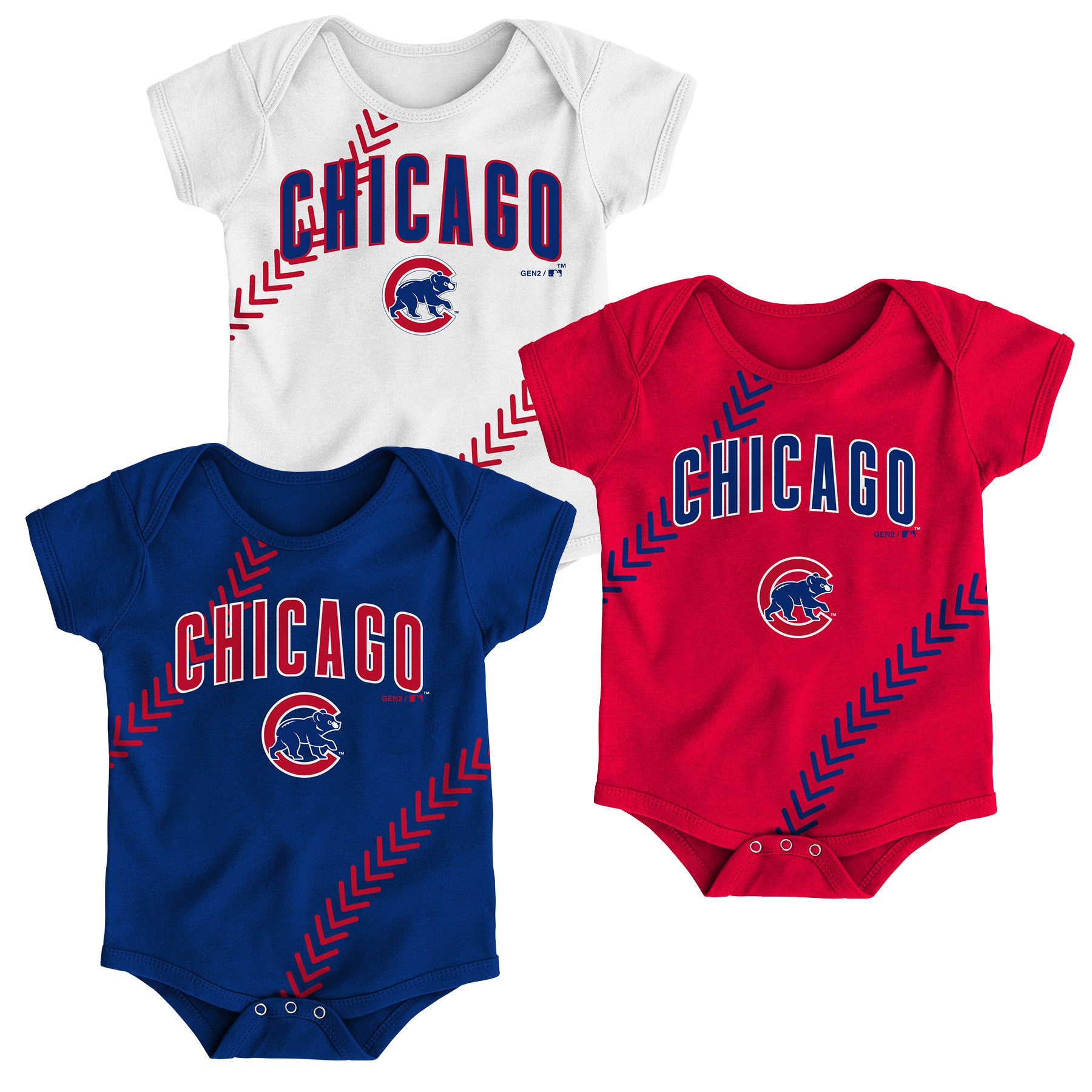 designer fashion 9ef8e 61195 Cubs Fantastic Baseball Creeper Set