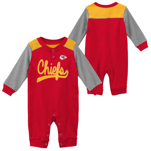 Chiefs Game Time Long Sleeve Coverall