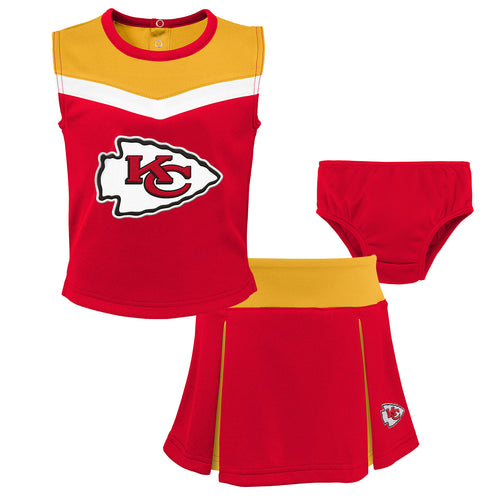 NFL Infant Clothing – Kansas City Chiefs Baby Apparel – babyfans cea50d7b6