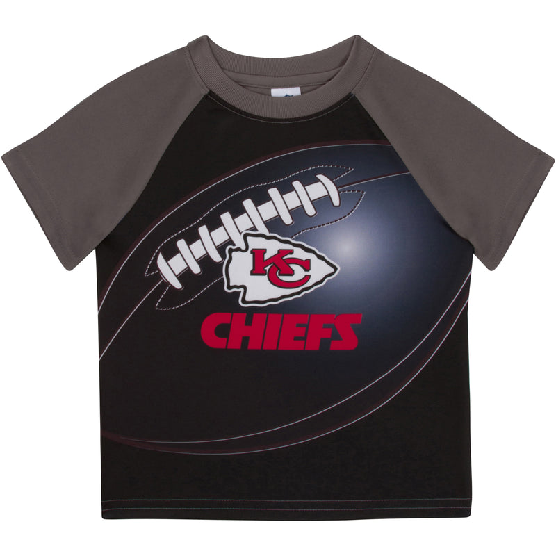Chiefs Short Sleeve Football Tee (12M-4T)