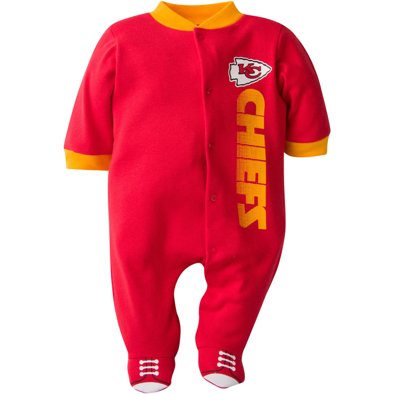 Baby Chiefs Logo Sleep & Play