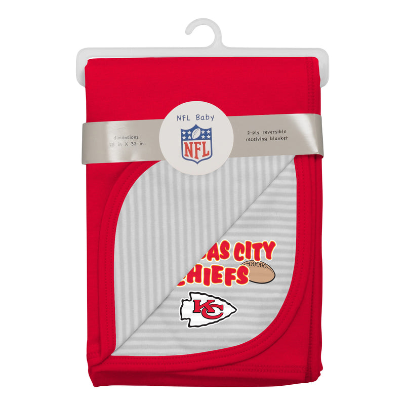 Chiefs Newborn Baby Blanket