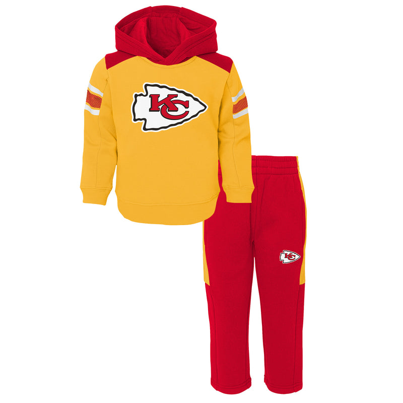 Chiefs Hooded Fleece Lined Set