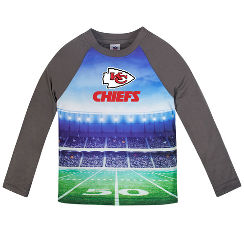 Chiefs Long Sleeve Football Performance Tee