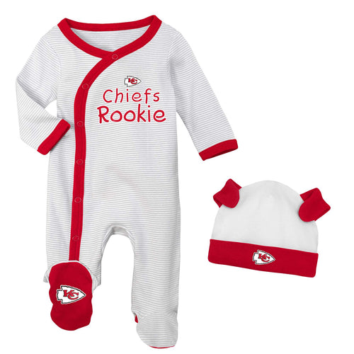 Kansas City Chiefs Rookie Coverall with Cap