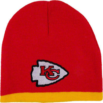 Chiefs Embroidered Toddler Knit Hat (18M-3T)