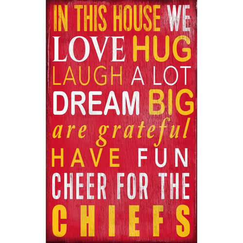 Chiefs Baby Nursery Wall Art