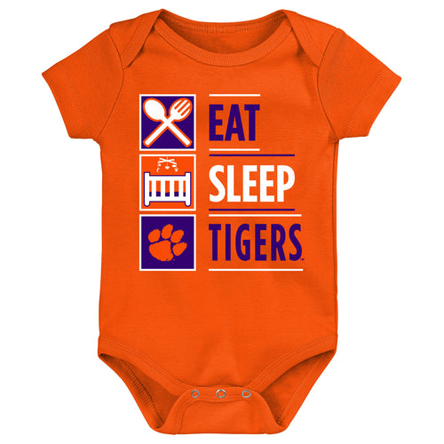 Eat Sleep Tigers Onesie