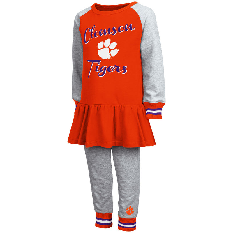 Tigers Girl Team Dress w/ Joggers