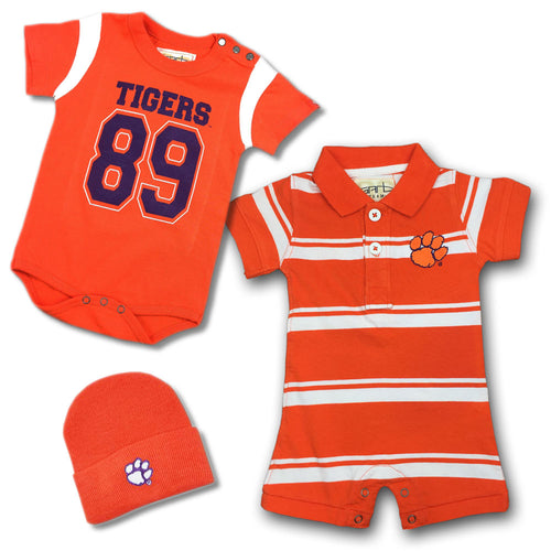 Clemson Infant Boy Gift Set