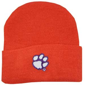 Clemson University Newborn Knit Cap