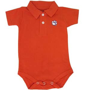 Clemson Golf Shirt Romper