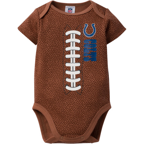 Colts Baby Fan Pigskin Onesie