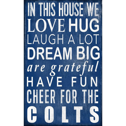Colts Baby Nursery Wall Art