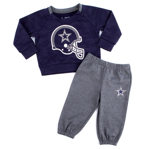 Cowboys Raglan Fleece Set