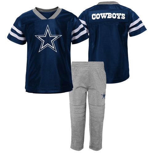 Cowboys Jersey Style Shirt and Pants Set