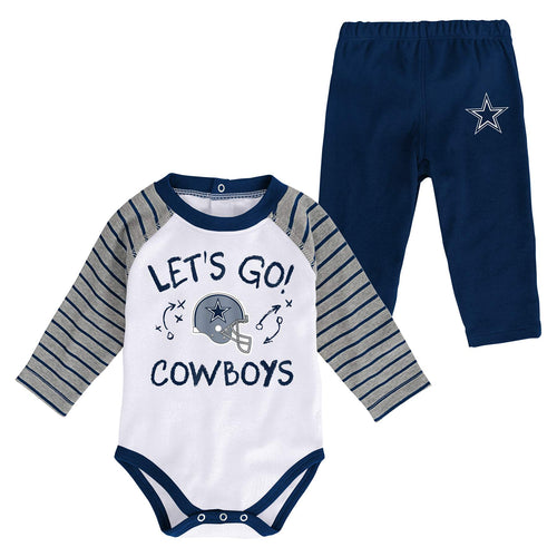 Cowboys Long Sleeve Bodysuit and Pants