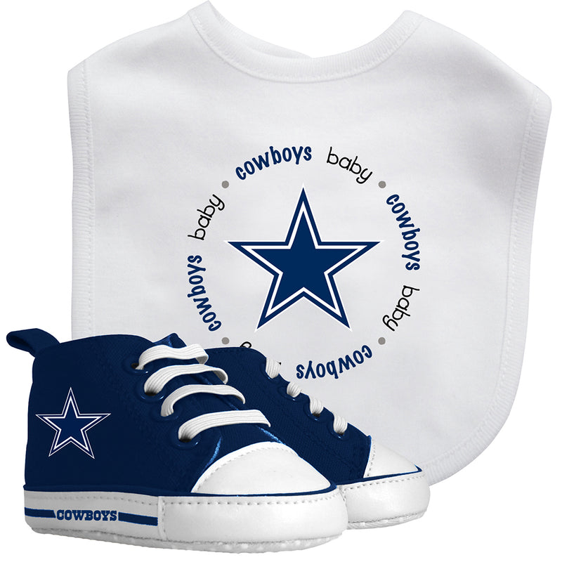 Dallas Cowboys Pre-Walk Shoes and Bib Set
