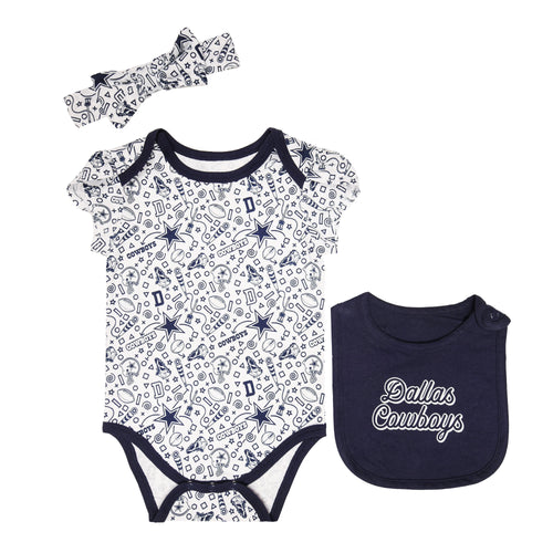 reputable site 98f95 3f498 Dallas Cowboys Baby Clothes: BabyFans.com – babyfans