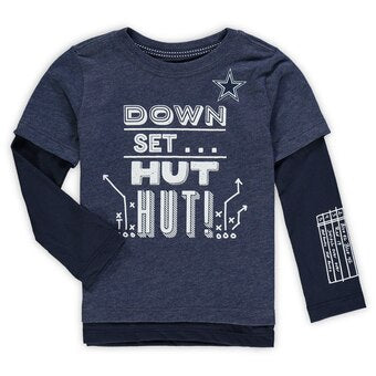 Cowboys Down, Set, Hut Tee