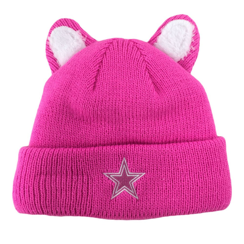 Cowboys Kid Cold Weather Pink Cutie Hat