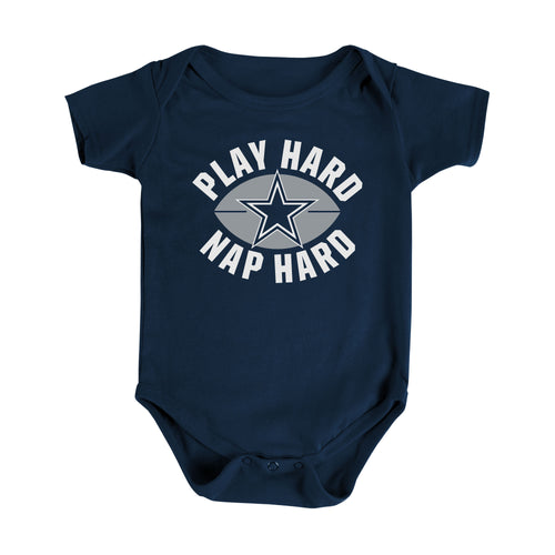 Cowboys Play Hard, Nap Hard Bodysuit