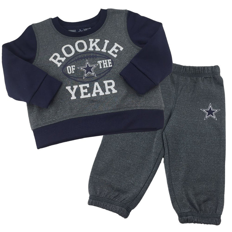 Cowboys Infant/Toddler Rookie of the Year Fleece Set