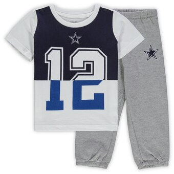 Cowboys 2 Piece Shirt and Pants Outfit