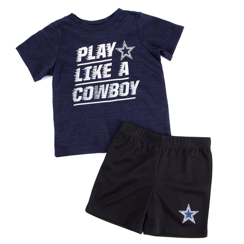 Play Like a Cowboy Short and Shirt Set
