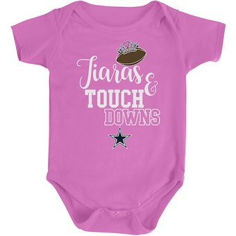 Cowboys Tiaras and Touchdowns Bodysuit