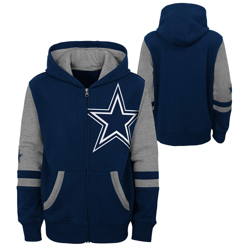 Cowboys Zip Up Sweatshirt