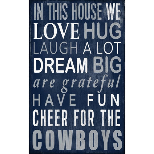 Cowboys Baby Nursery Wall Art