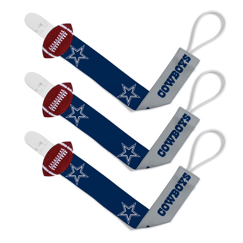 Dallas Cowboys Pacifier Clips