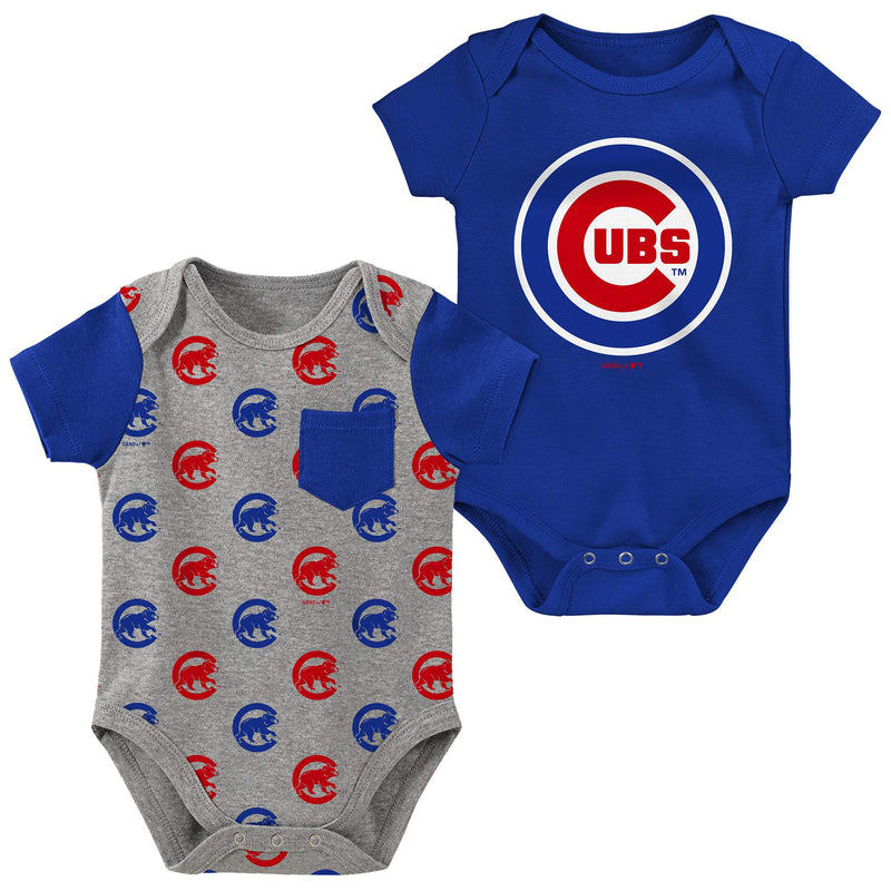 Cubs 2 Pack Creeper Set