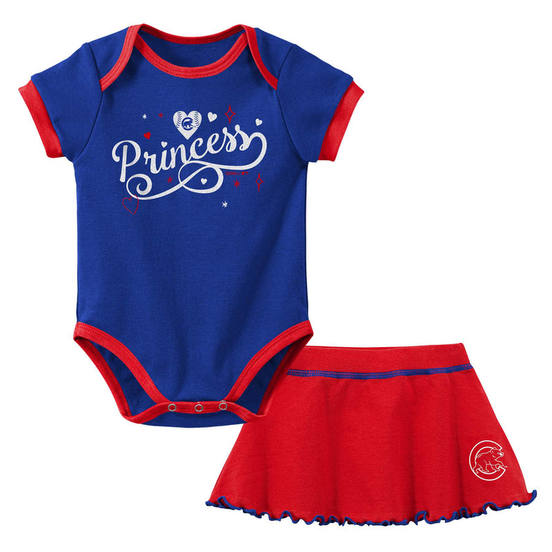 Cubs Princess Bodysuit & Skirt Set