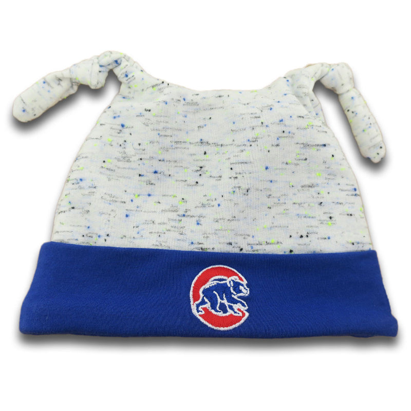 Cubs Newborn Speckled Beanie