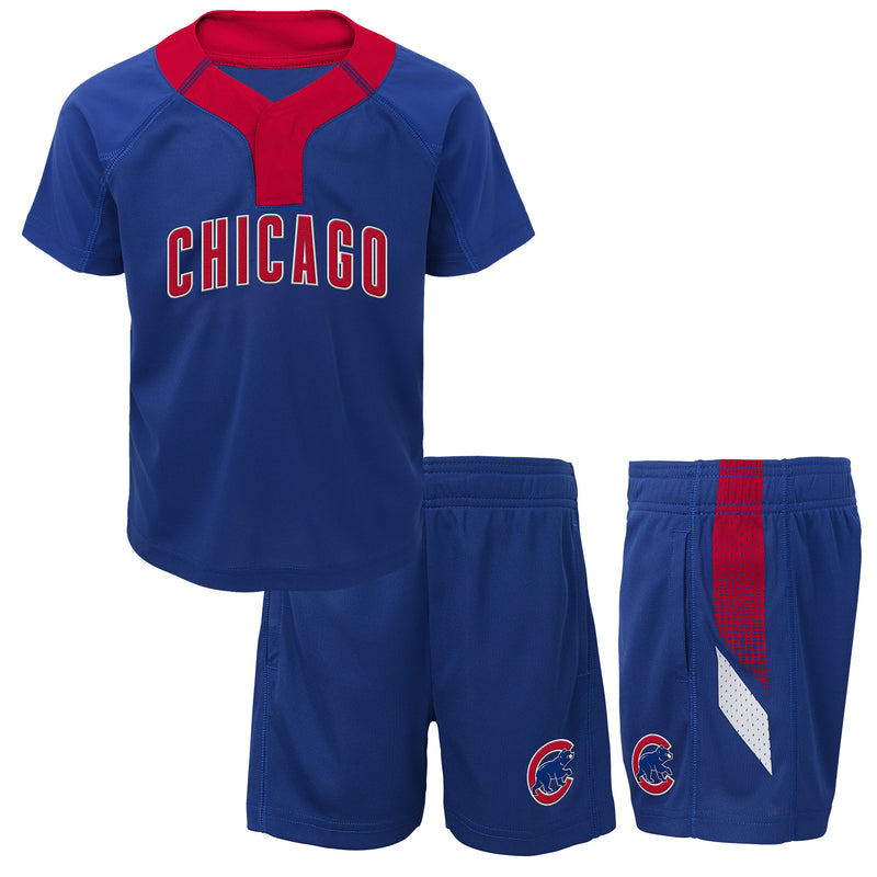 Cubs Boy Performance Shirt and Shorts Set