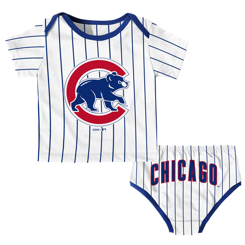 Chicago Cubs Baby Boy Uniform Set