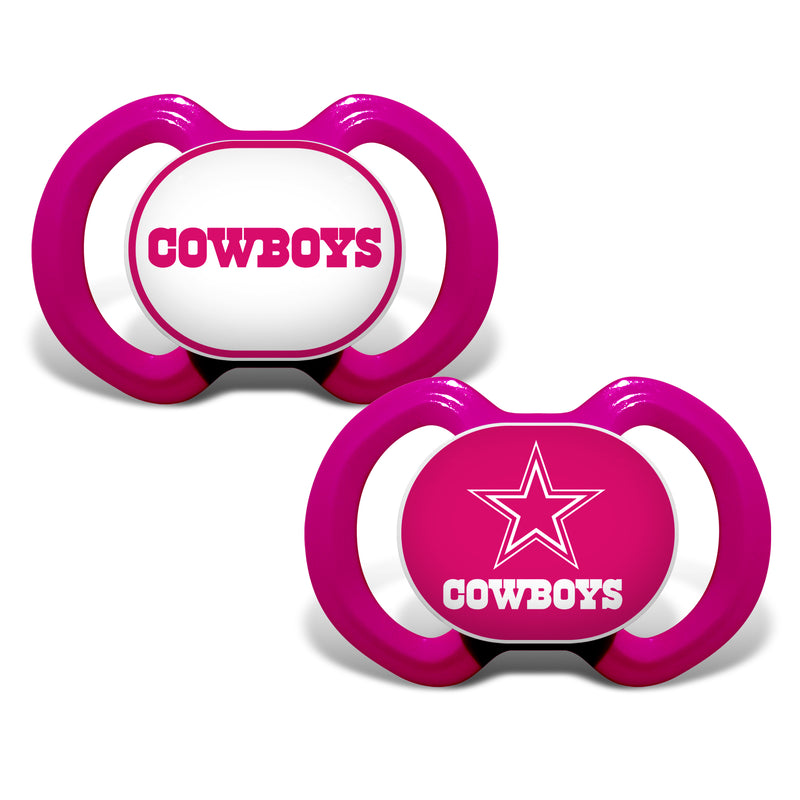 Dallas Cowboys Pink Variety Pacifiers