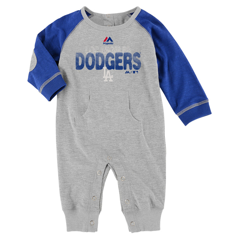Dodgers Little Slugger Romper