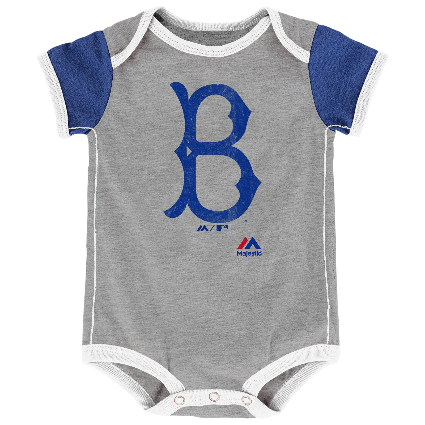 Dodgers Baby Old School Bodysuit Duo Babyfans