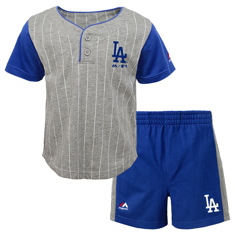 Dodgers Bat Boy Short Set