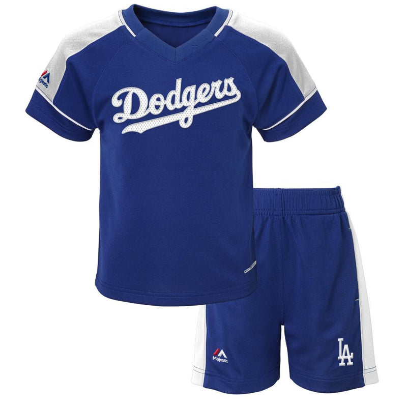 Dodgers Baby Classic Shirt and Short Set