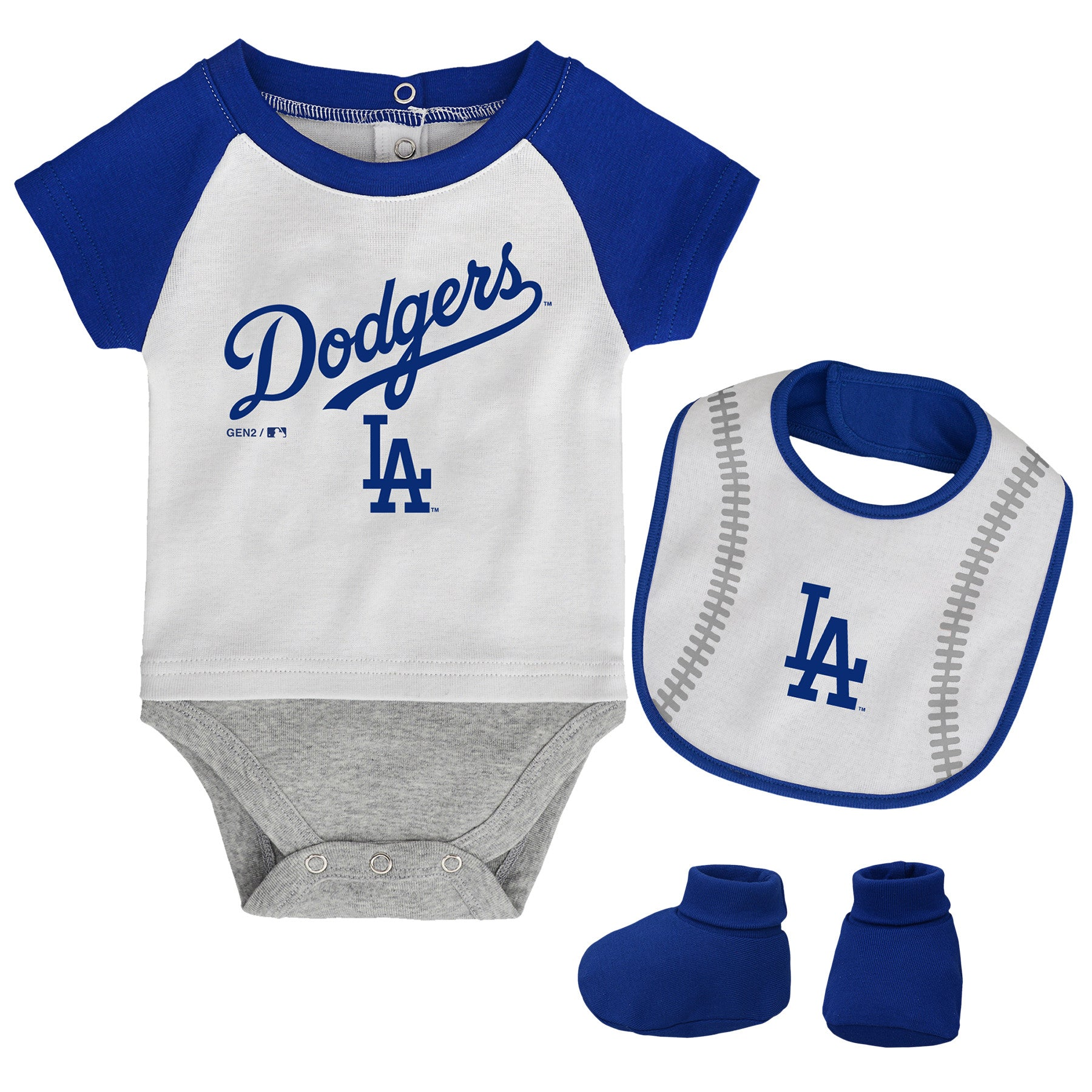 LA Dodgers Baby Outfit – babyfans f7acbebb6